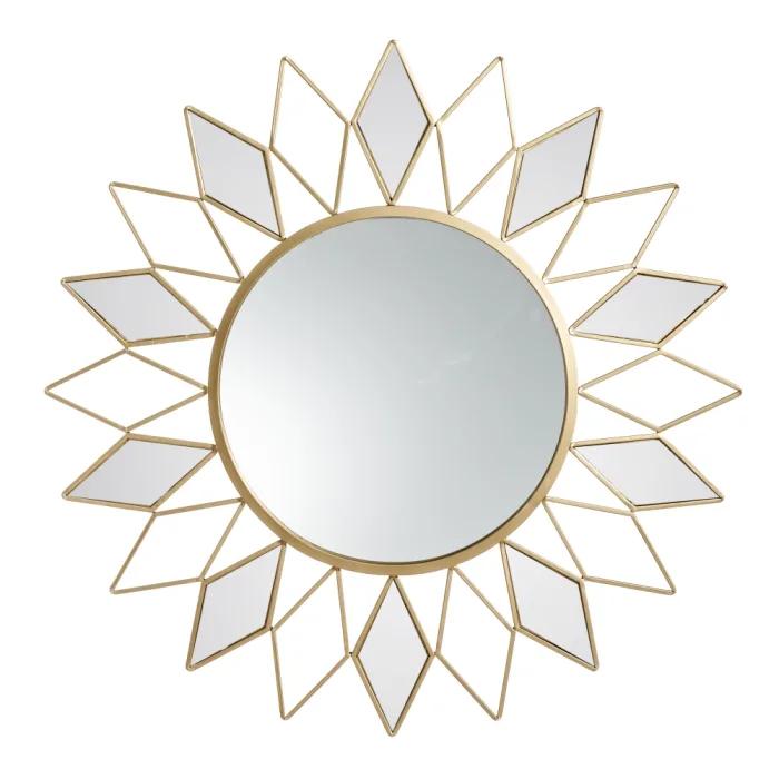 Espejo Oro-Metal
