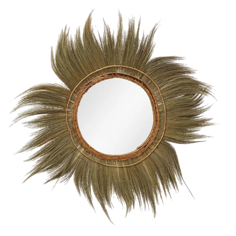 Espejo Fibra Natural