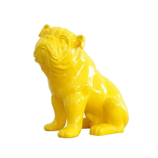 Bulldog amarillo