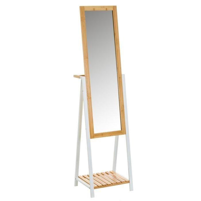 Espejo Vestidor  Bambú-Metal