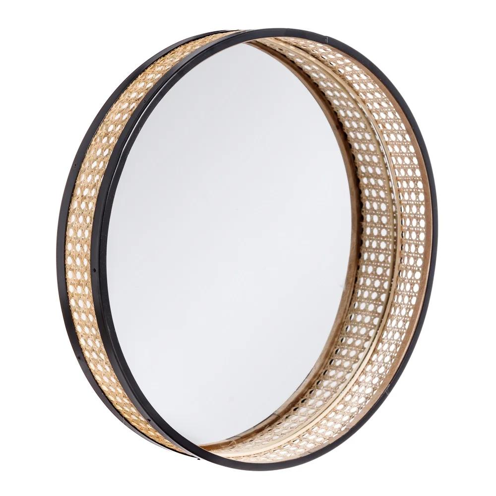 Espejo Natural-Ratán 45 cm