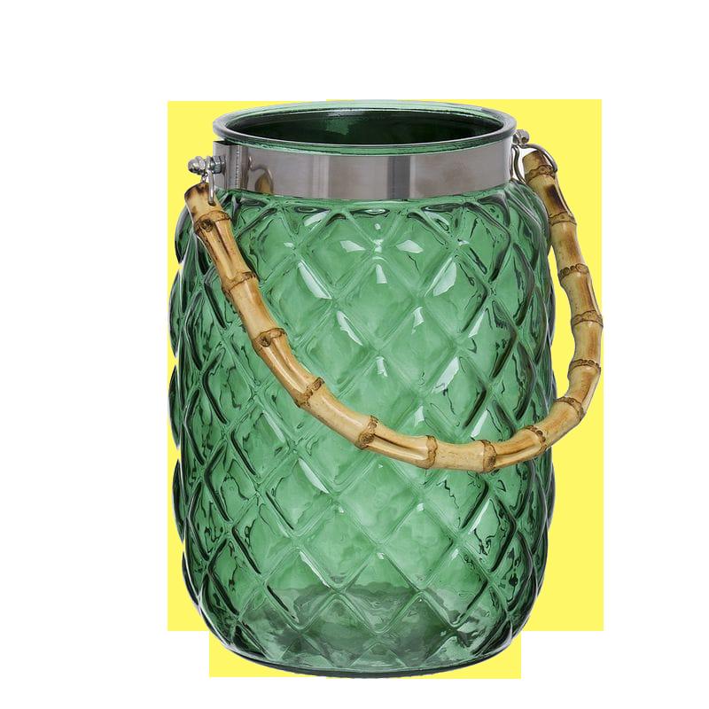 Farolillo Candel Verde 21 cm