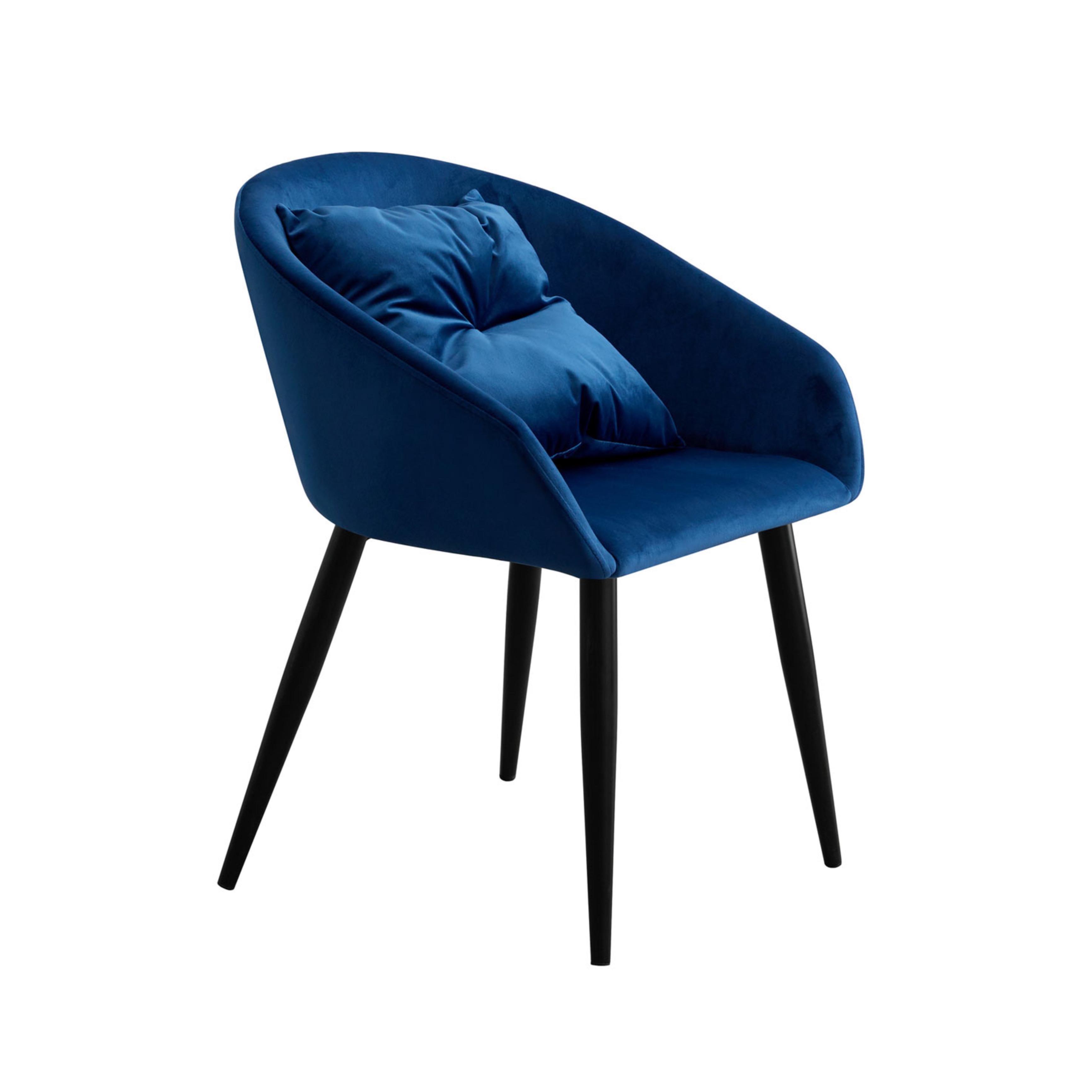 Pack 2 Sillas Velvet Azul