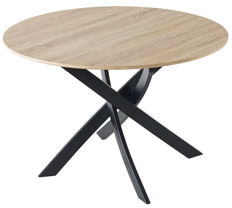 Mesa Comedor 100 Roble/Negro