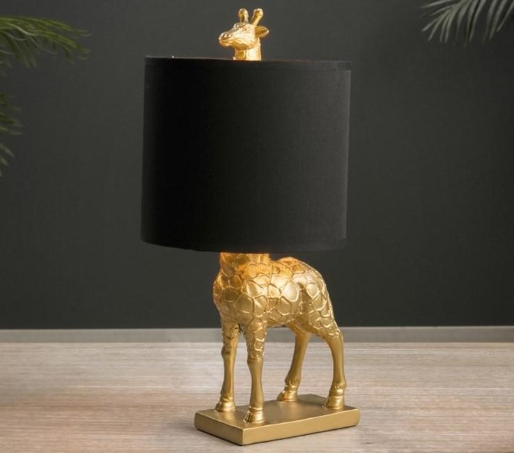 Lámpara Jirafa Oro