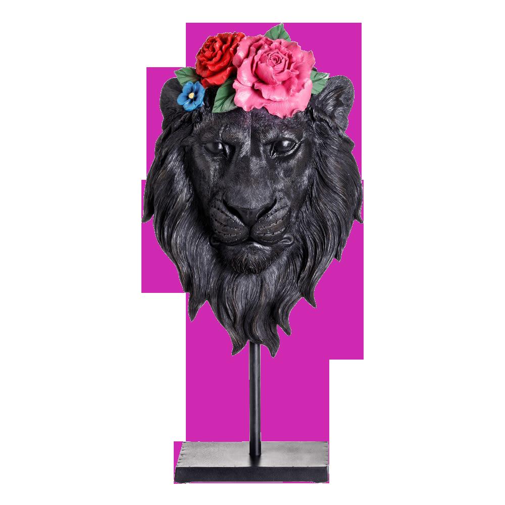 León Floral 49 cm