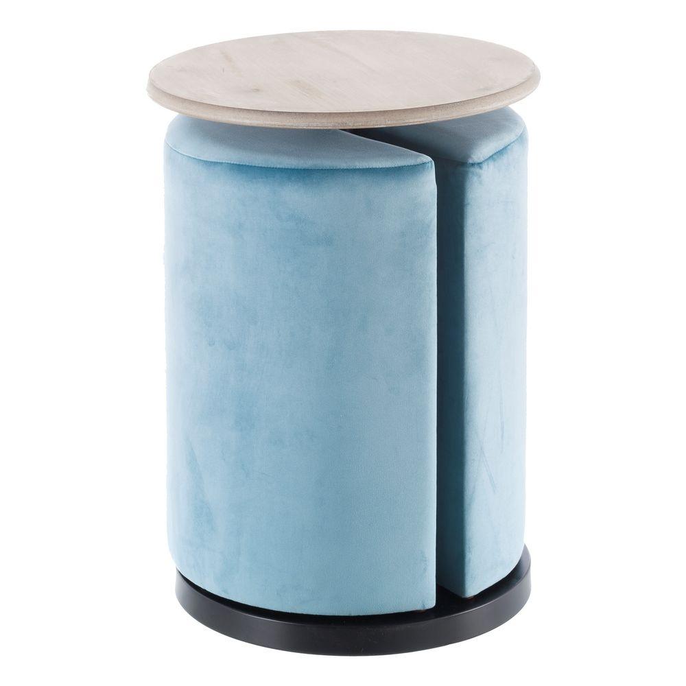 Puf Mesa Azul