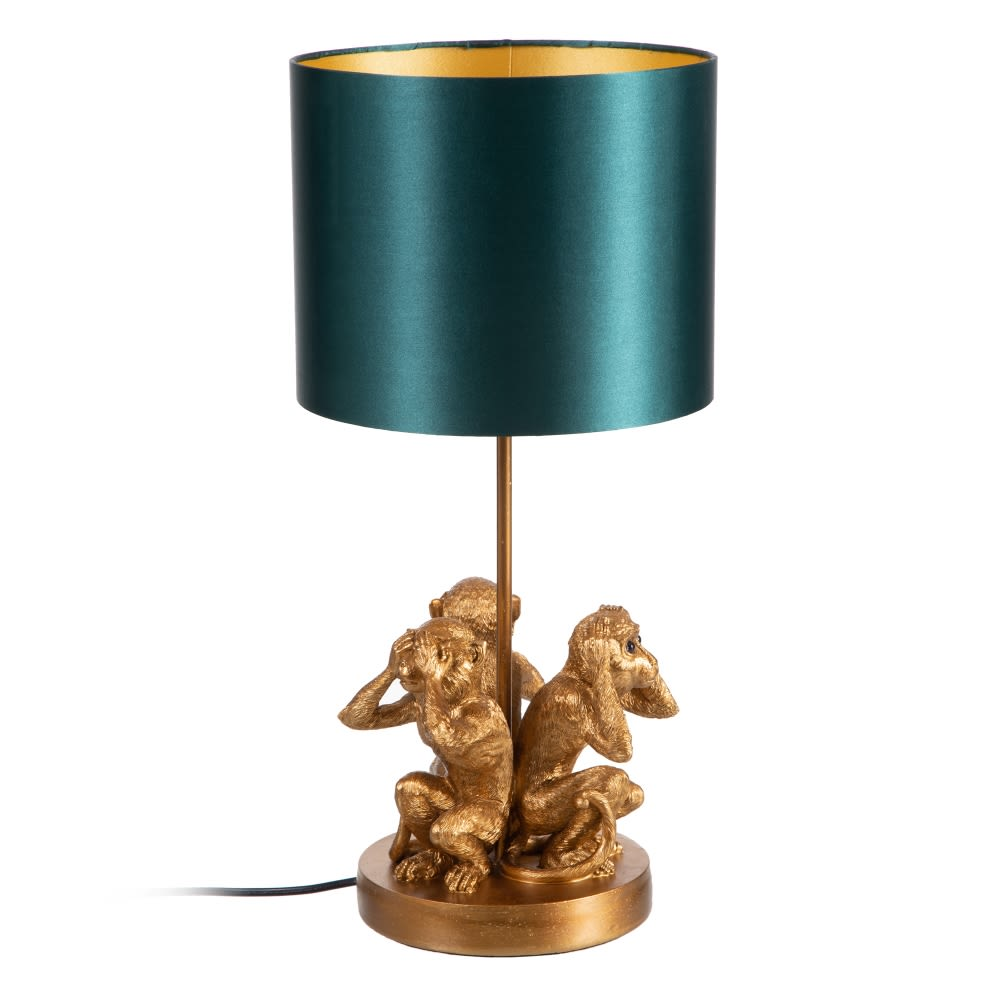 Lámpara Monos Oro