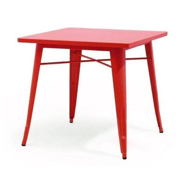 Mesa Tolix 80 Rojo