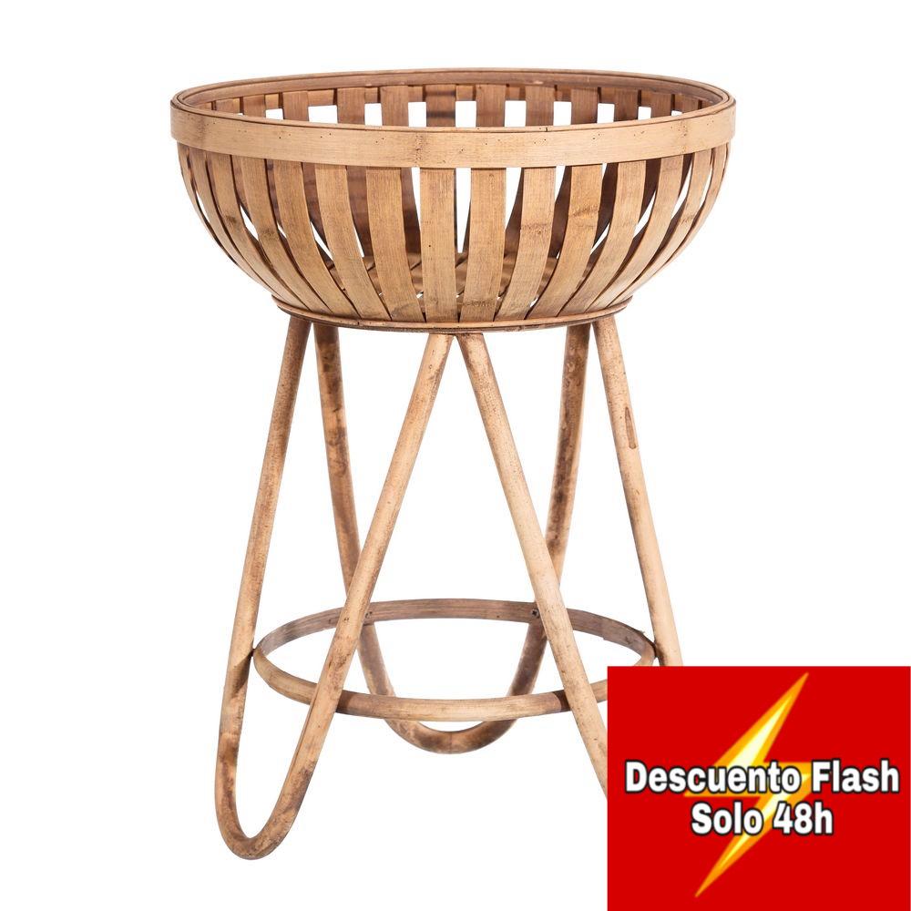 Mesita Bol Bambú