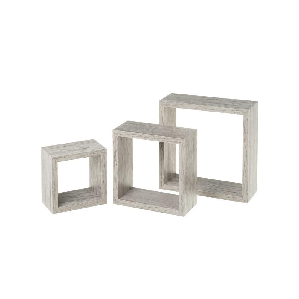 S/3 Estanterías Cubic