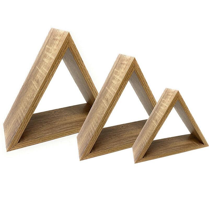S/3 Estanterías Triángulo