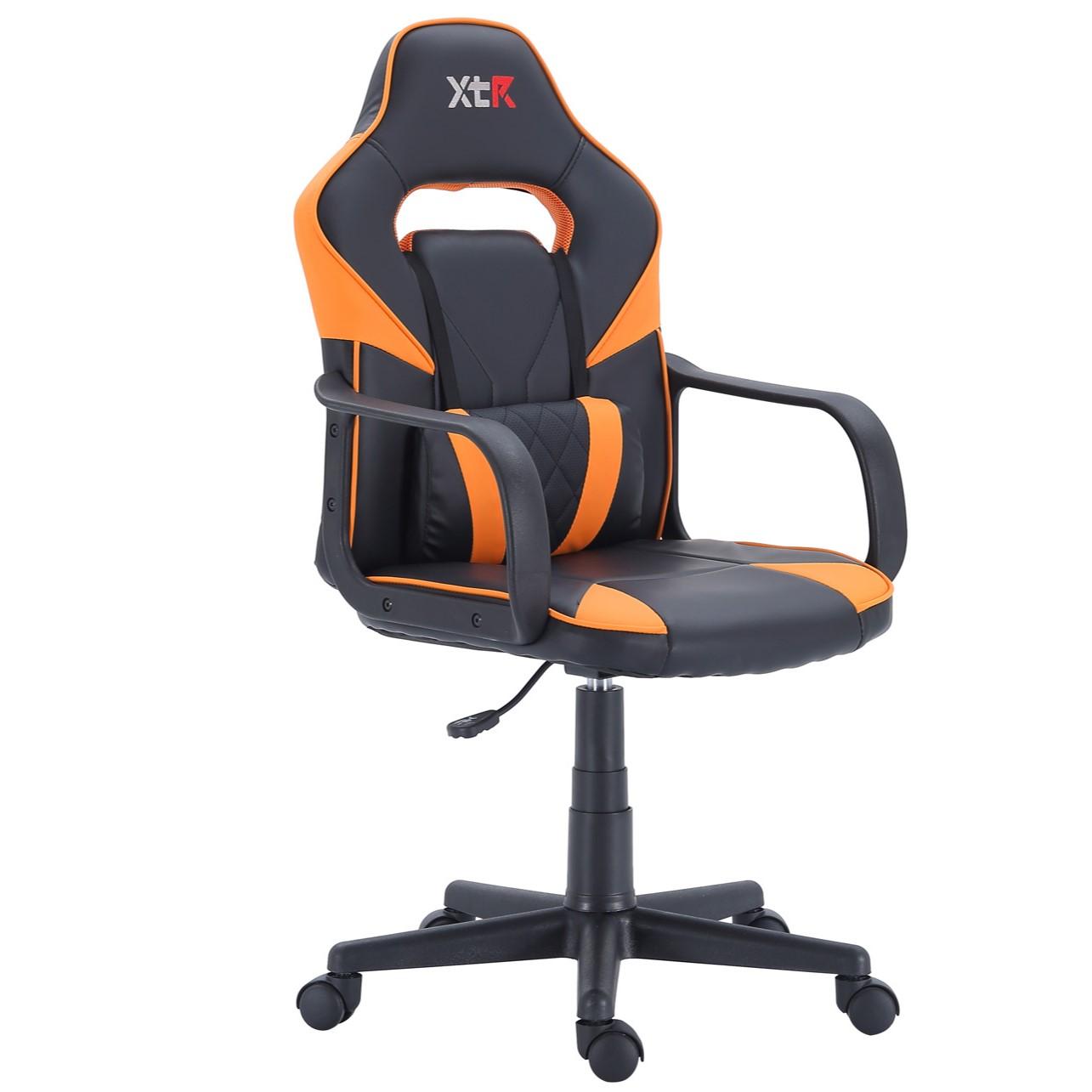 Sillón Gamer XTR Naranja / Negro
